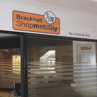 Bracknell Shopmobility cause logo