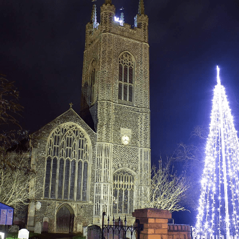 Bungay Christmas Lights