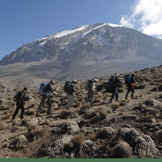 Mount Kilimanjaro Climb 2019 For The Meningitis Research Foundation.- Oliver Smith