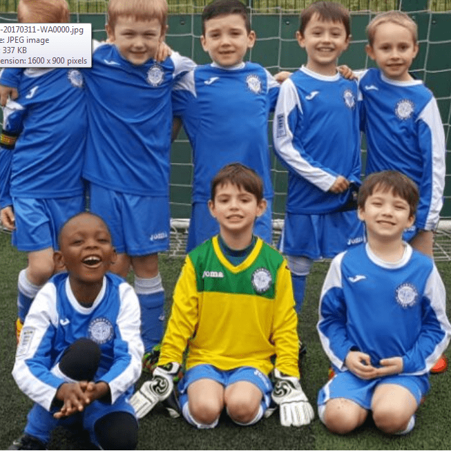 Ramsbottom United Thunder U7 JFC