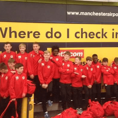 Sale Utd Under 13s Football Tour