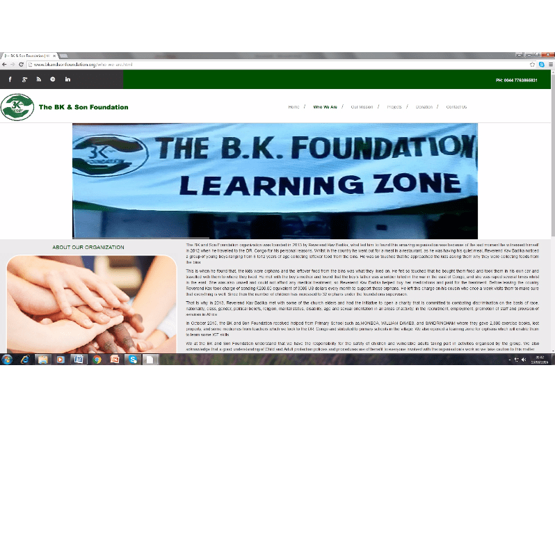 The BK and Son Foundation