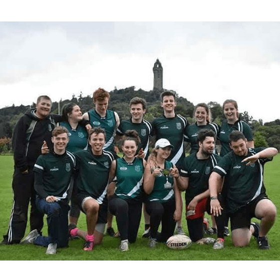 Stirling Touch Rugby cause logo