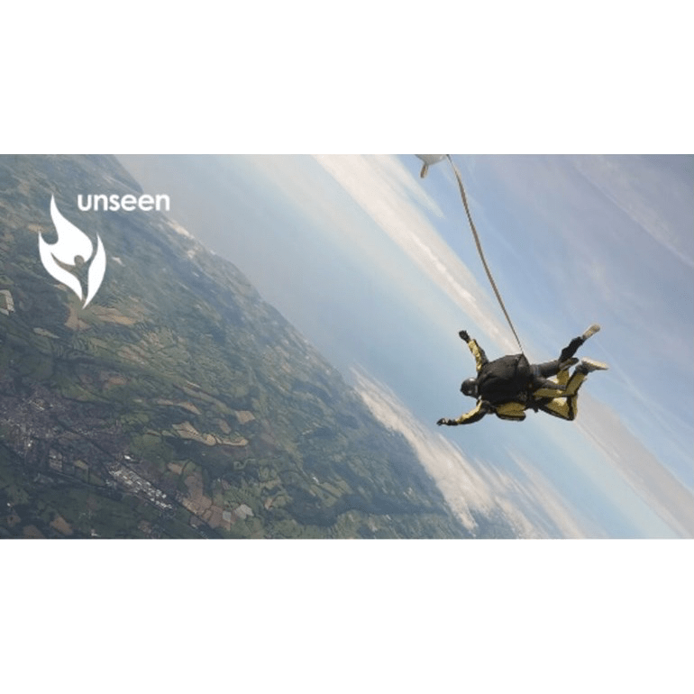 Skydive for Unseen 2020 - Ellie Smith