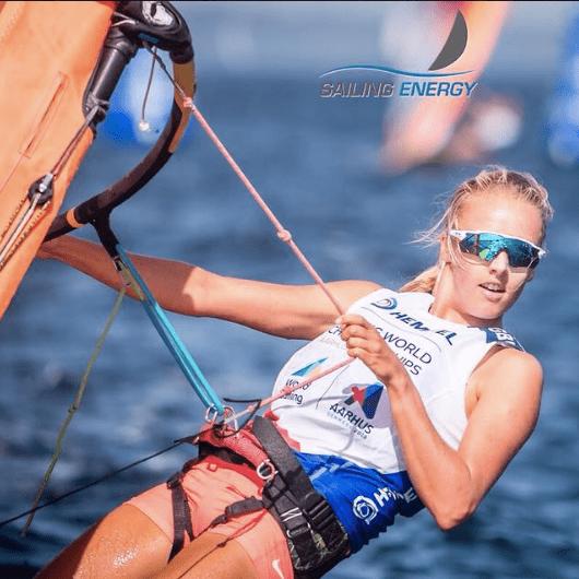 Emma Wilson Olympic Windsurfing campaign 2021 & 2024