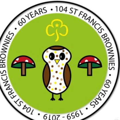 104th St Francis brownies