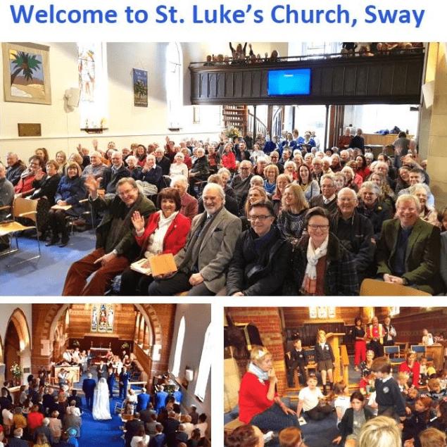 St Luke's Church - Sway