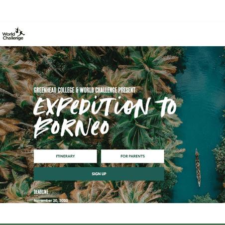 World Challenge Borneo 2022 - Annabel Haigh