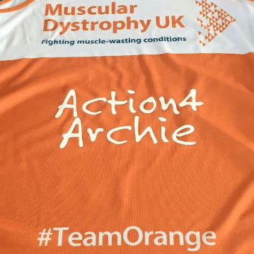London Marathon 2017 for Action4Archie - Team Franklin