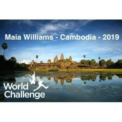 World Challenge Cambodia 2019 - Maia Williams