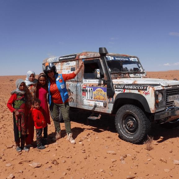 Chimera Racing - Helping Morocco through Adventure cause logo
