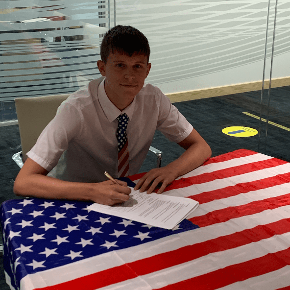 USA football scholarship - Jack Spencer