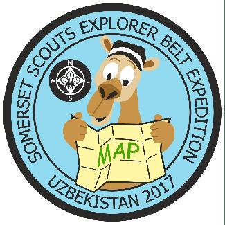 Somerset Scouts Explorer Belt