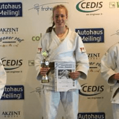 Judo Competition - Isobel Kitchen