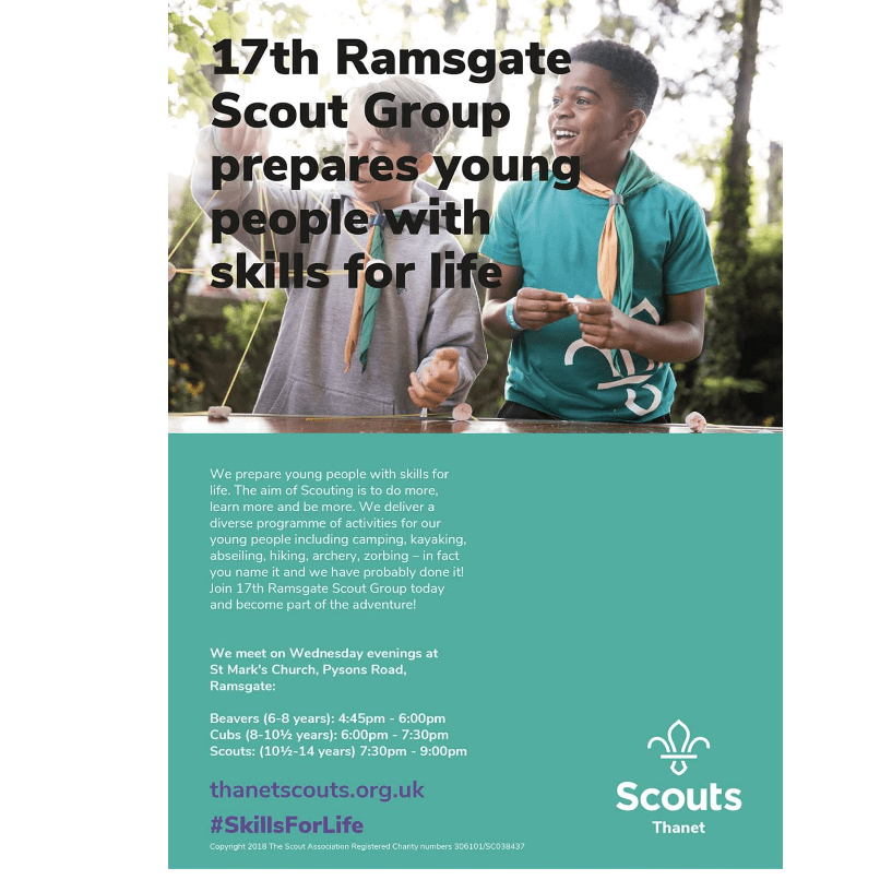 17th Ramsgate St Mark's Scout Group