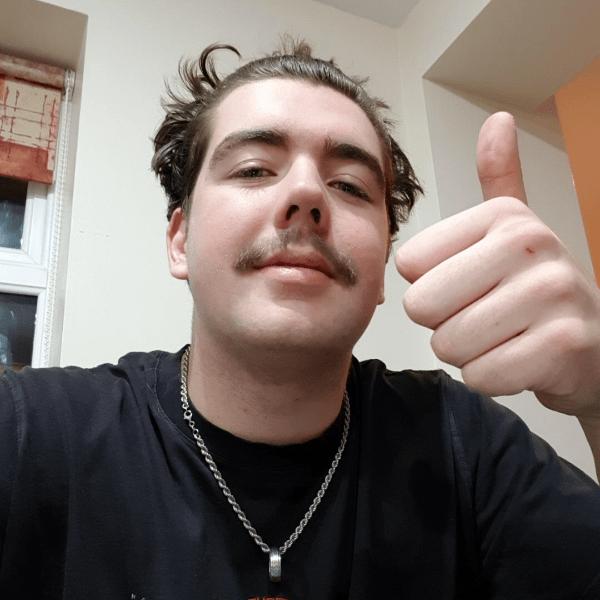 Maxwell Wilson raising for Movember