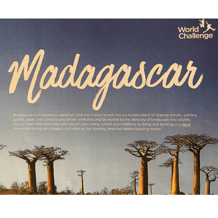 World Challenge Madagascar 2019 - Bella Coe