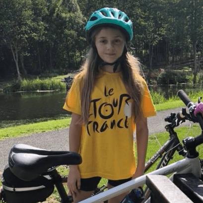 Lara Binnie Cycle 2018 in aid of Strathcarron Hospice