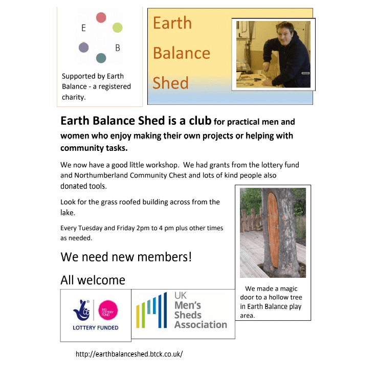 Earth Balance Shed