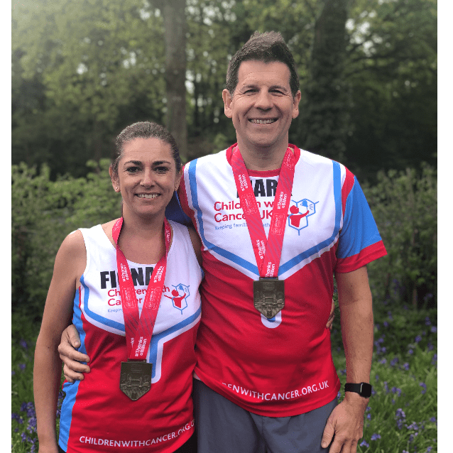 London Marathon 2020 for Children with Cancer with the Christers