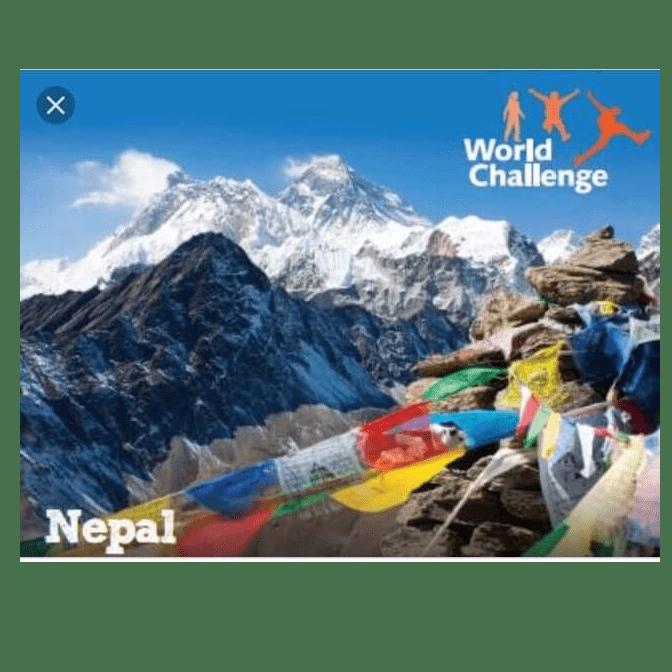 World Challenge Nepal 2019 - Blair Junor