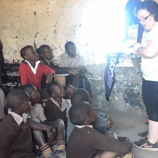 Derby County Community Trust Kenya 2018 - Marie Crowley