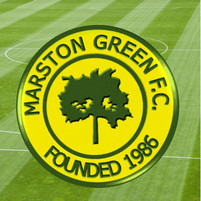 Marston Green Football Club cause logo
