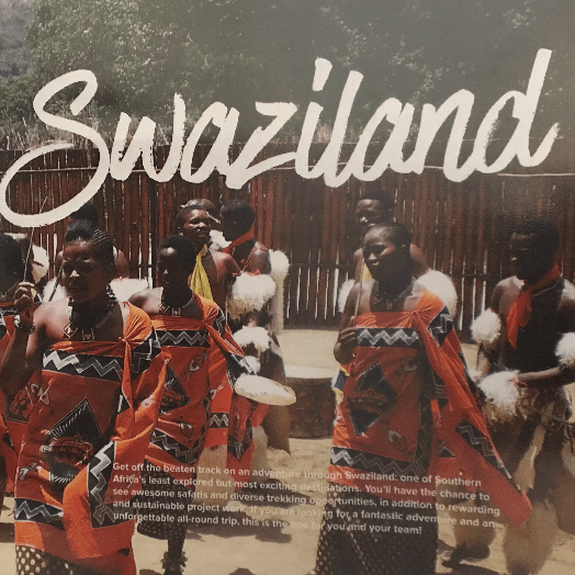 World Challenge Swaziland 2018 - Issy O'Brien
