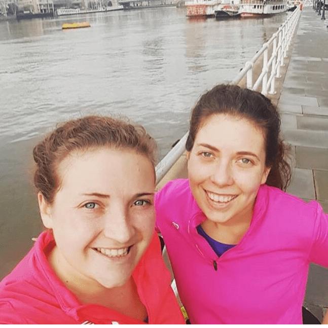 London Marathon Pancreatic Cancer UK 2018 - Nicola Saunders