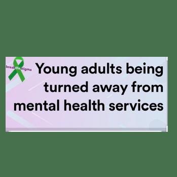 Paula Allan raising for Young Adult Mental Health