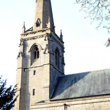 St Denis Church Silk Willoughby