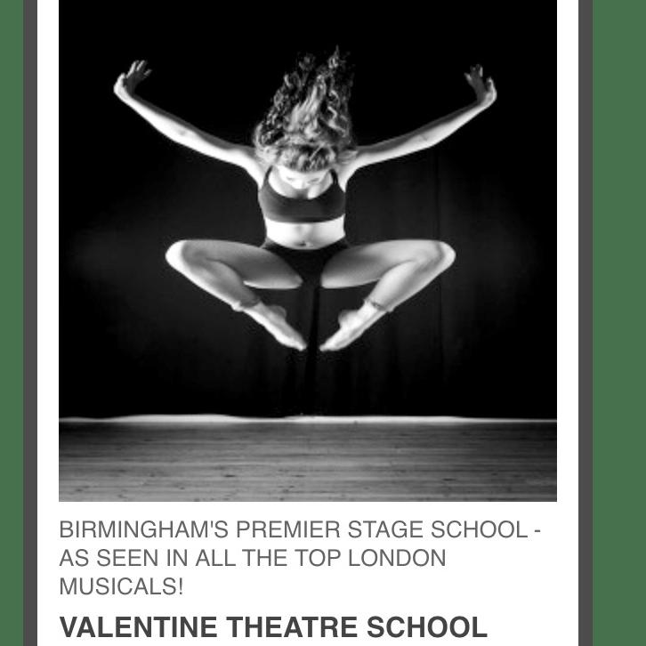 Valentine's Theatre School - Birmingham