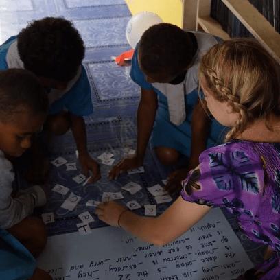 Think Pacific - Teaching Children in Fiji 2018 - Skye Robinson-Bean