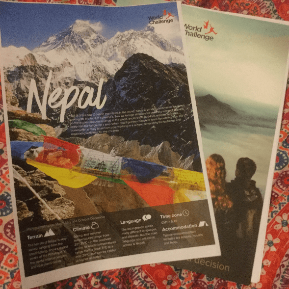 World challenge Nepal 2018 - Cerys Wilson