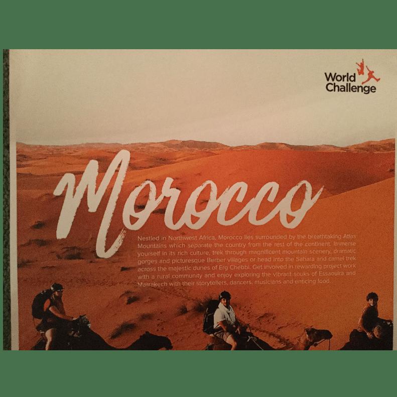 World Challenge Morocco 2018 - Nathan Jennings
