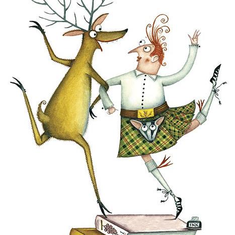 A Write Highland Hoolie