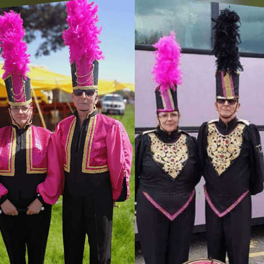 The silverbirds marching band
