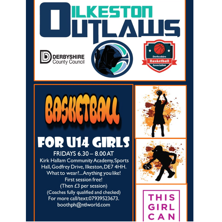 Ilkeston outlaws u14 girls basketball