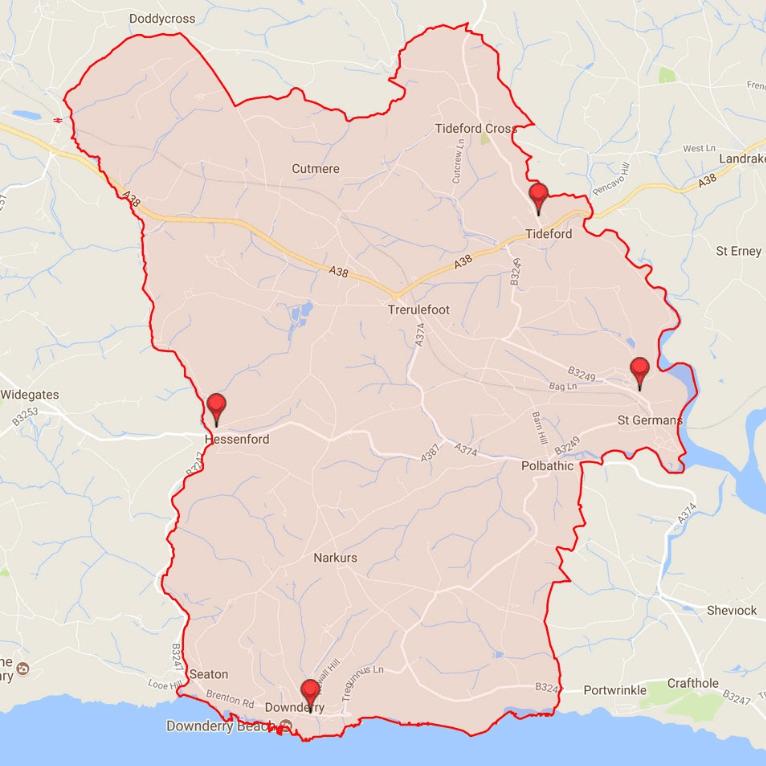 Group Parish of St Germans, Cornwall