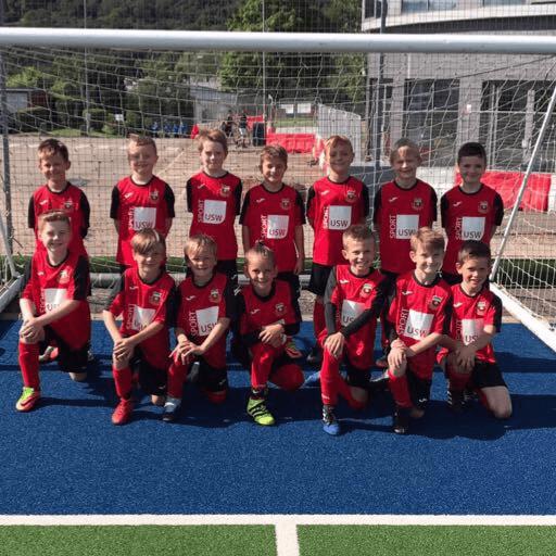 Treforest FC Under 9's football Team