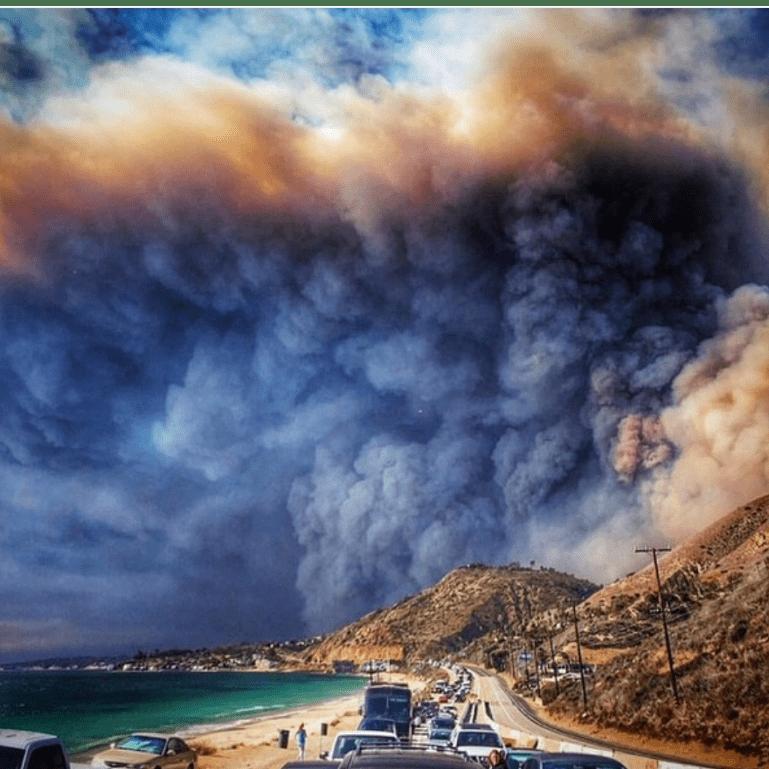 Raising Funds For The Malibu Wildfires - Sofia-Faye Nikolopoulou