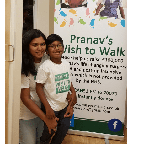 Pranav's Wish To Walk - Usha Prudhvi