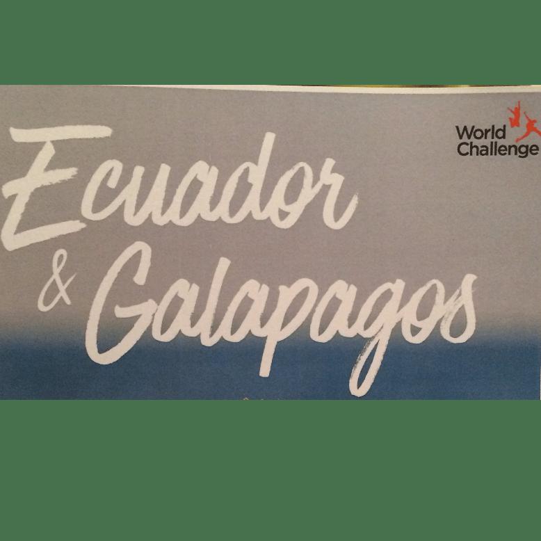 World Challenge Ecuador 2018 - Caitlin Thomas