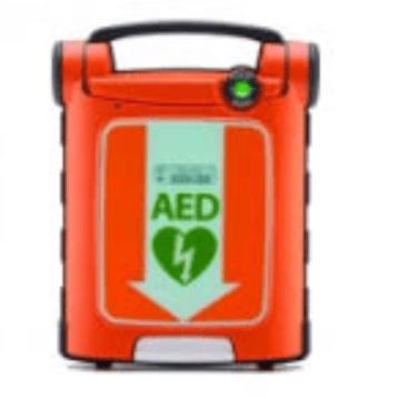 St. John Ambulance AED machine 2017 - Rachel Mcfarlane