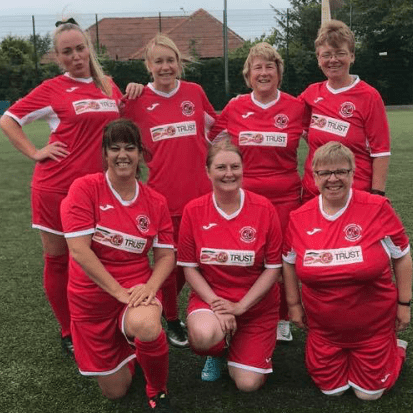 Poolfoot Belles Women's Walking Football