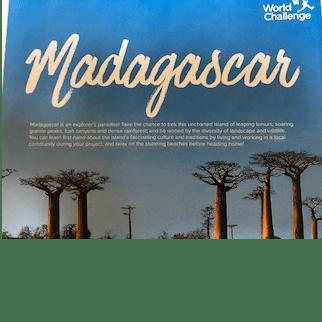 World Challenge madagascar 2021 - Henry Allen