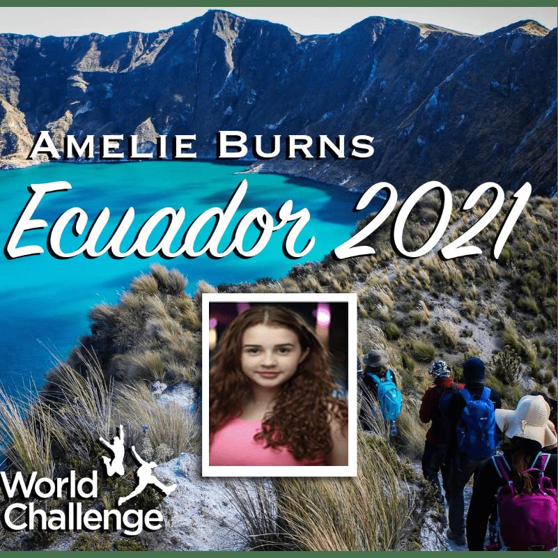 World Challenge Ecuador 2021 - Amelie Burns