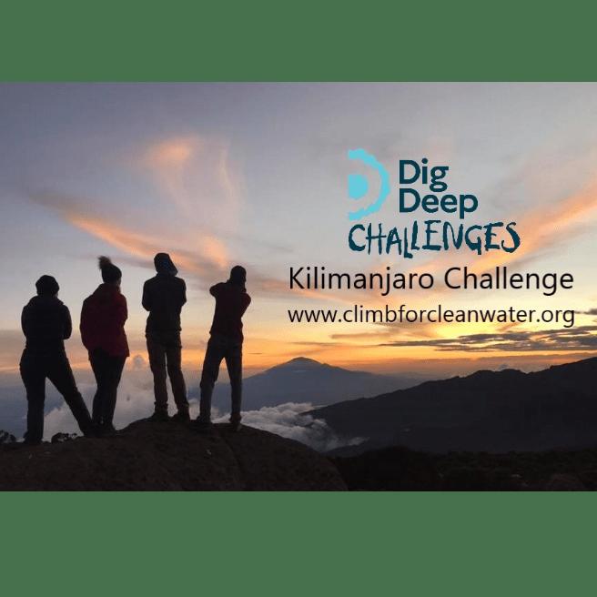 Dig Deep Kilimanjaro 2020 - Olive Court