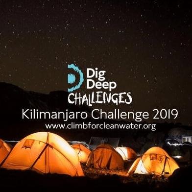 Dig Deep Kilimanjaro 2019 - Euan Sinclair