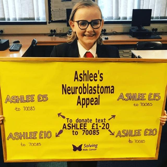 Ashlee's Neuroblastoma Appeal